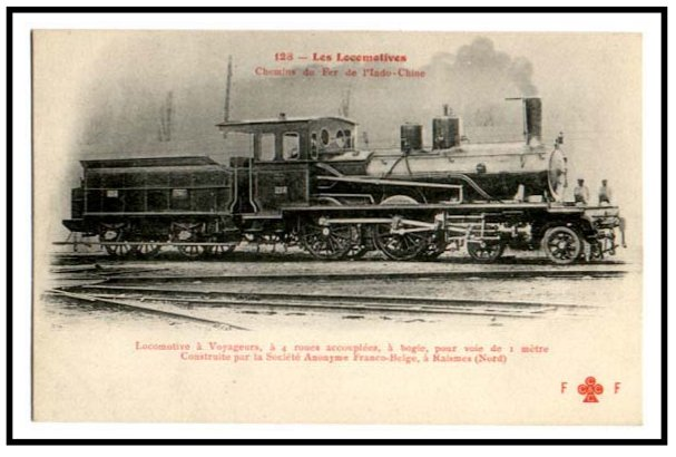 4-4-0 locomotive